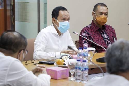Pjs Walikota Medan Sambut Baik Bank Sumut Dukung Pembangunan Kota Melalui Program Pemulihan Ekonomi Nasional