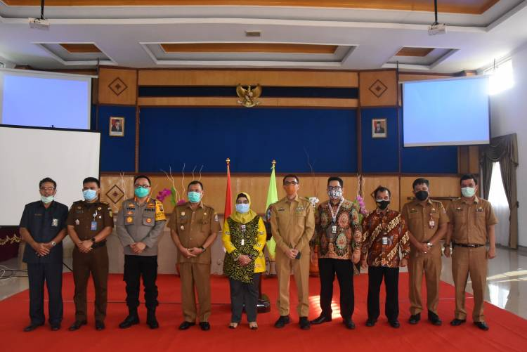 Wakil Ketua KPK RI Rakor Bersama Pemkab Deli Serdang Soal Pencegahan Korupsi Terintegrasi