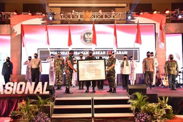 BNPT Selenggarakan Deklarasi Kesiapsiagaan Nasional di Kota Batu Jatim