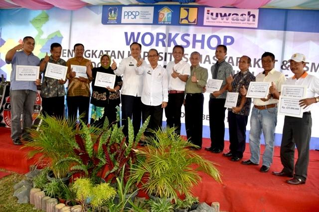 Pemko Tebingtinggi Gelar Workshop Sanimas-IDB Tahun 2016