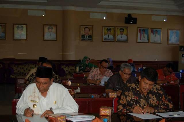 Pejabat Tinggi Pratama/Eselon II Kota Tanjungbalai Ikuti Uji Kompetensi