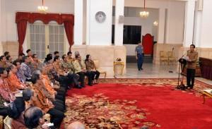 Presiden Jokowi: Tidak Ada Hal Yang Menyebabkan Kita Pesimis