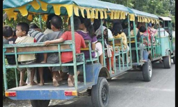 Berlaku di Binjai, Odong-Odong Hanya Boleh di Pinggiran Kota