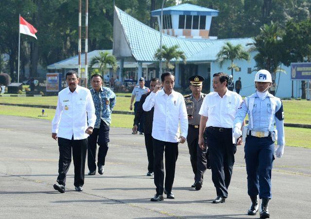 Presiden Jokowi Resmikan Terminal Bandara Internasional Silangit
