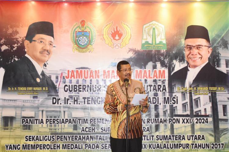 Gubernur Sumut Apresiasi KONI se-Sumatera Dukung Sumut dan Aceh Tuan Rumah PON 2024
