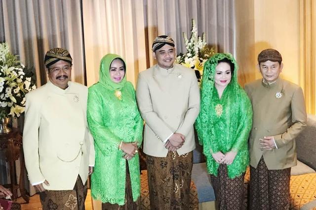 Hadiri Tradisi Siraman, Gubsu Erry Doakan Pernikahan Bobby-Kahiyang Putri Jokowi