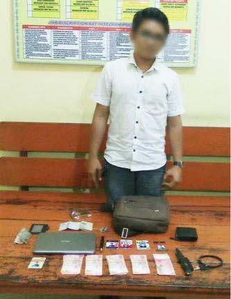 Peras SKPD di Kabupaten Batu Bara, Aulia Diamankan Polisi