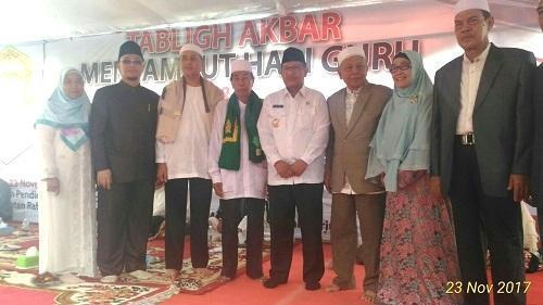 Wakil Walikota Medan Hadiri Tabligh Akbar Yayasan Pendidikan Islam Terpadu Aisyah Maksum