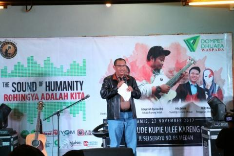 Wakil Walikota Buka The Sound Of Humanity Rohingya