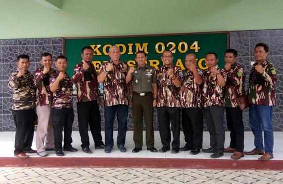 Dandim 0204/Deli Serdang Terima Audensi FKPPI Kabupaten Serdang Bedagai dan