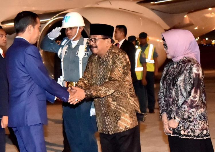 Usai Hadiri KTT APEC di Papua Nugini, Presiden Jokowi Lanjutkan Kunjungan Kerja ke Jawa Timur