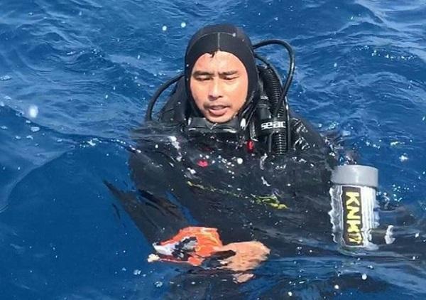 Prajurit TNI Sertu Hendra Temukan Kotak Hitam Pesawat Lion Air JT-610