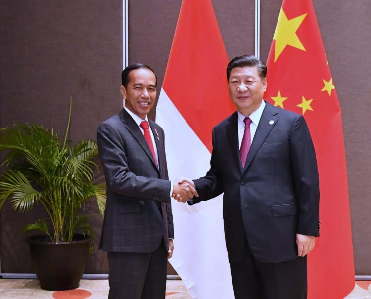 Presiden Jokowi Bahas Perdagangan Hingga Ekonomi Digital dengan Presiden Xi Jinping