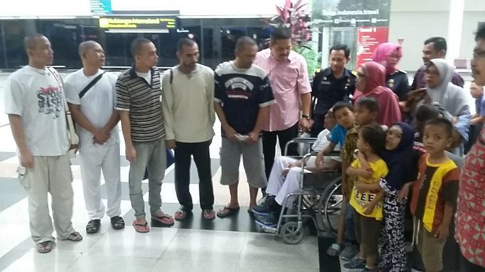 Lima Nelayan Asal Langkat Akhirnya Dipulangkan dari Malaysia
