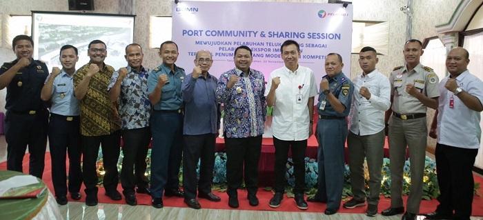 Pelindo 1 Gelar Port Community, Kembangkan Pelabuhan Tanjung Balai Asahan