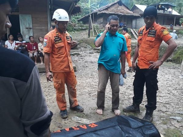 1 Km dari Lokasi, Tim Gabungan Kembali Temukan Korban Ketiga Longsor di Nias Selatan