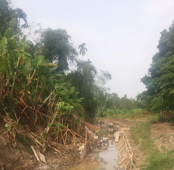 Aparat Hukum Didesak Usut Proyek Pembangunan Irigasi di Glugur Rimbun