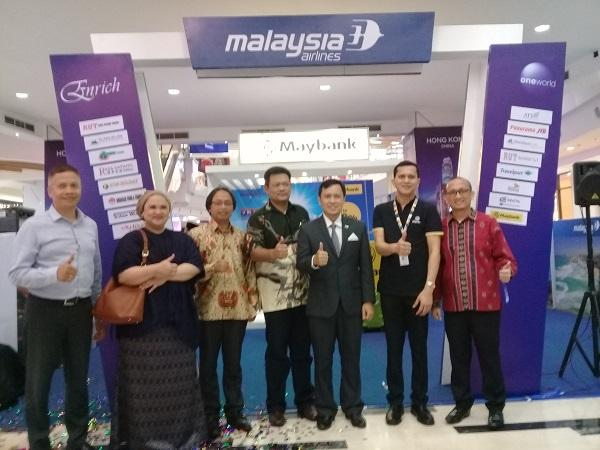 Banyak Diskon dan Promo, Malaysia Airlines Gelar Travel Fair 2018 di Mall Centre Point Medan