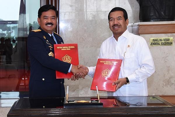TNI dan BSSN Kerja Sama Penguatan Keamanan Siber