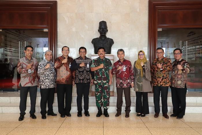 Panglima TNI Terima Kunjungan Direksi BRI