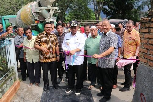 Plt Walikota Medan Launching Penggunaan Dana Kelurahan