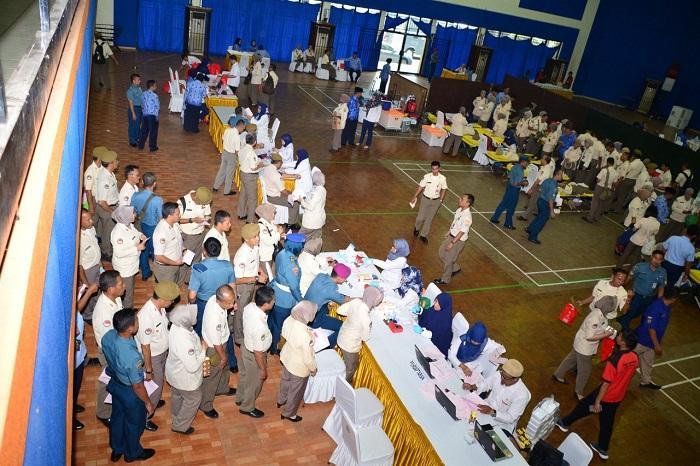 HUT ke-48, Korpri Unit TNI AL Kumpulkan 315 Kantong Darah untuk Masyarakat Yang Membutuhkan