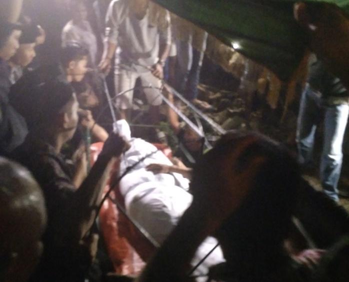 Warga Saksikan Pemakaman Mayat Pelaku Bom Bunuh Diri di TPU Sei Sikambing D Medan