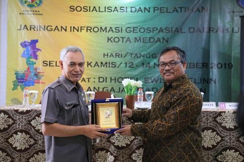 Pemko Medan Bersama Badan Informasi Geospasial Adakan Sosialisasi dan Pelatihan JIGD