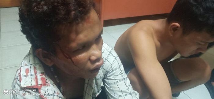 Polres Padang Sidimpuan Tangkap Dua Jambret HP di Simpang Jalan Mangga