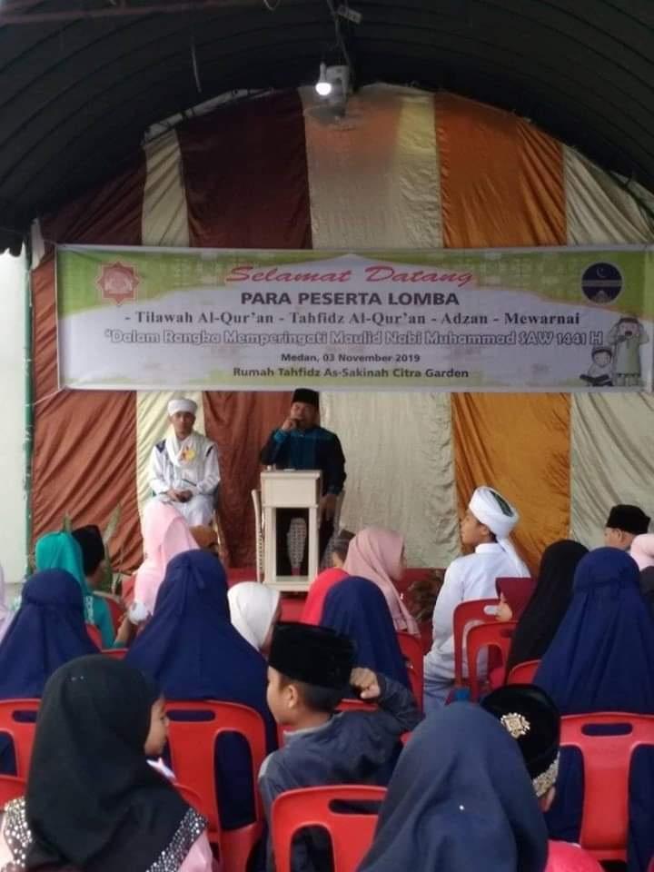 Peringati Maulid Nabi Muhammad SAW, Masjid As Asakinah Gelar Perlombaan