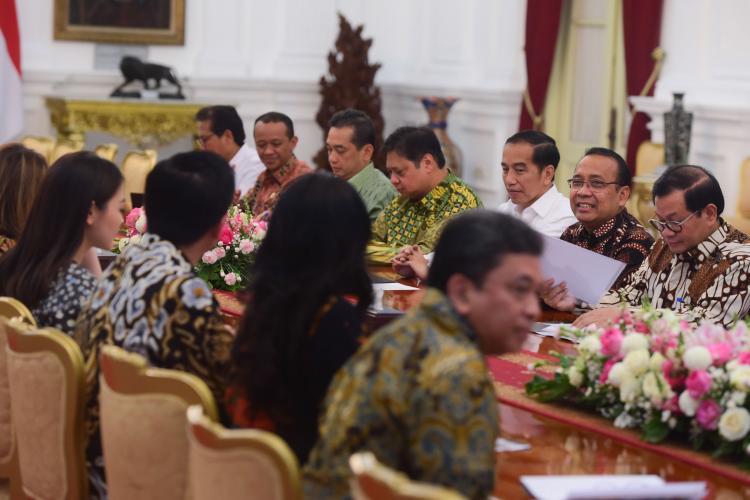 Tingkatkan Ekspor Tekstil, Presiden Jokowi: Kita Sudah Mulai Siapkan Apparel Park