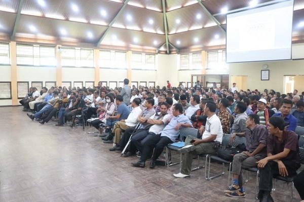 FKDM Tobasa Gelar Pembekalan dan Deklarasi Pilkades Damai