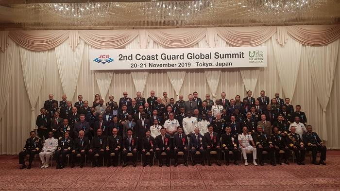 Bakamla RI/IDNCG Hadiri Pertemuan Coast Guard Dunia di Tokyo Jepang
