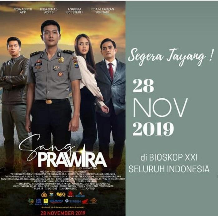 Film Sang Prawira Premiere di Bioskop 28 Oktober Mendatang, Personil Kepolisian Jadi Bintang Film