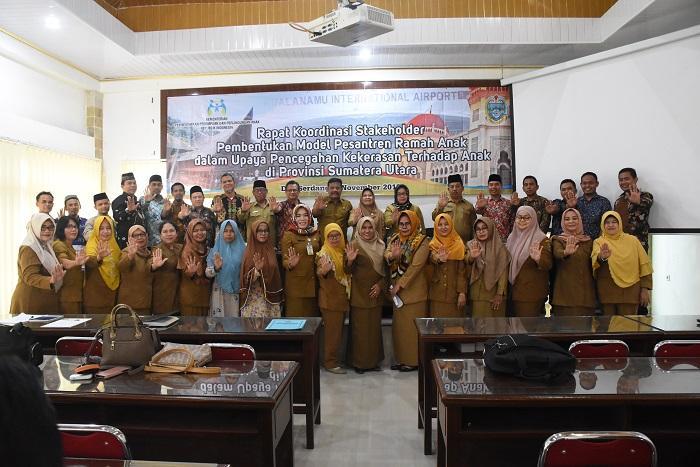 Kabupaten Deli Serdang Jadi Model Pesantren Ramah Anak di Sumut