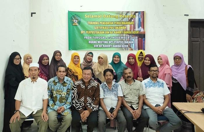 Sertifikasi Pustakawan di UIN Ar-Raniry Aceh, Dr Zulfikar Zen Minta Pengangkatan PNS Jangan Ada Inpassing