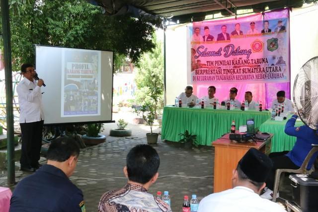 Karang Taruna Kelurahan Tangkahan Masuk Nominasi Teladan Tingkat Provinsi Sumut