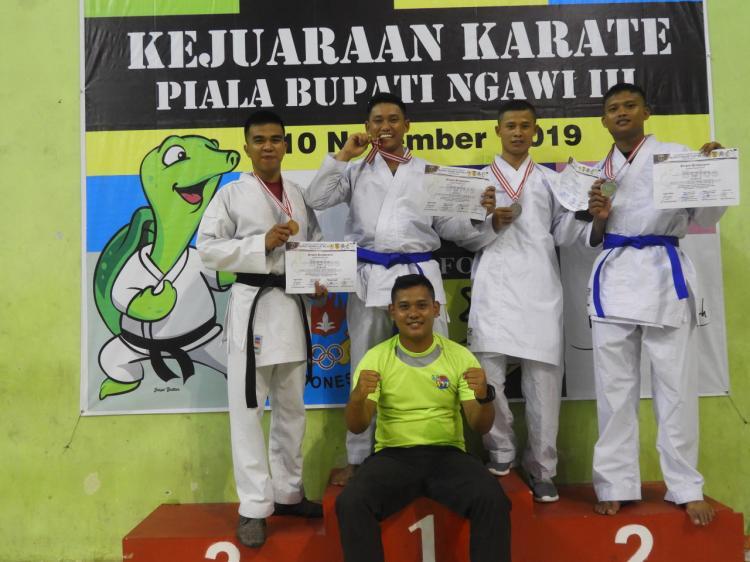 Bupati Cup III, Karateka Armed 12 Ukir Prestasi