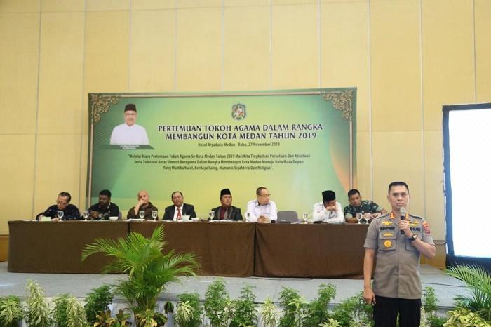 Kombes Dadang Hartanto Jadi Narasumber Pertemuan Tokoh Agama se-Kota Medan