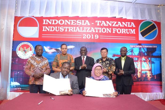 KBRI Dar es Salaam Buka Forum Industri Indonesia-Tanzania