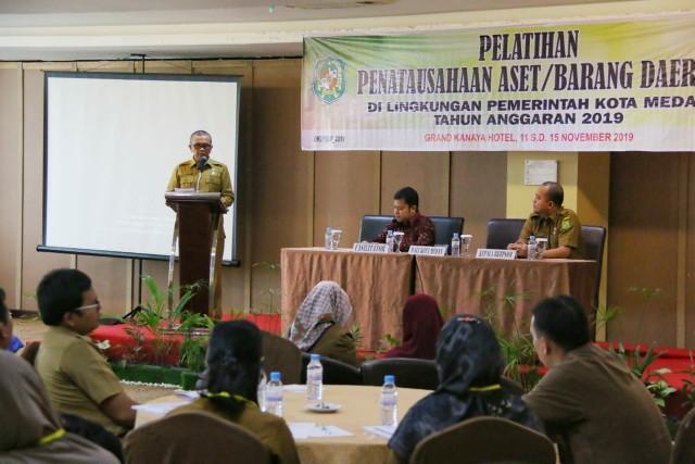 Pemko Medan Gelar Pelatihan Penatausahaan Aset di Lingkungan Pemko Medan