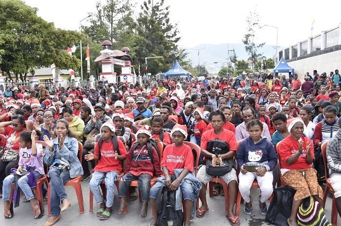 Panglima TNI dan Kapolri Hadiri Baksos dan KRR di Wamena Papua