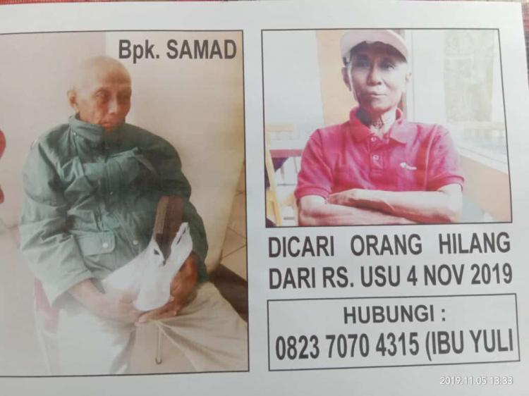 Tiga Hari Menghilang, Keluarga Berharap Informasi Keberadaan Samad