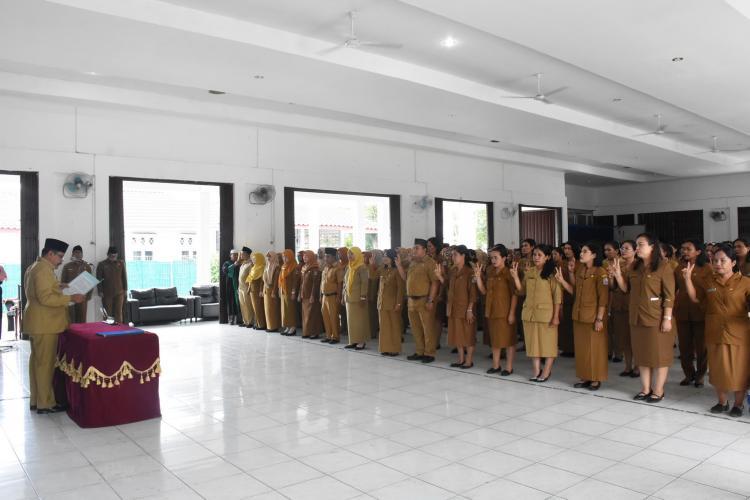 Bupati Lantik Pejabat Fungsional di Lingkungan Pemkab Deli Serdang