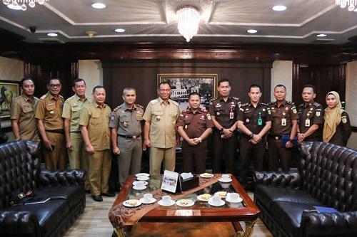 Kajari Belawan Baru Dilantik, Sambangi Plt Wali Kota Medan