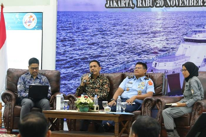 Bakamla RI/IDNCG Rancang Draft Pengamanan Laut Natuna Utara