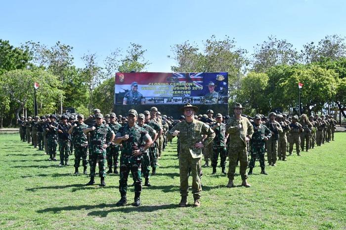 Kasad Indonesia dan Australia Saksikan Latihan Bersama Wirra Jaya Ausindo 2019