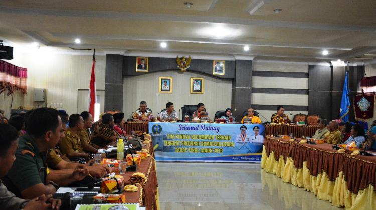 Kecamatan Sibolga Utara Penilaian Tahap Final Kecamatan Terbaik Tingkat Provsu
