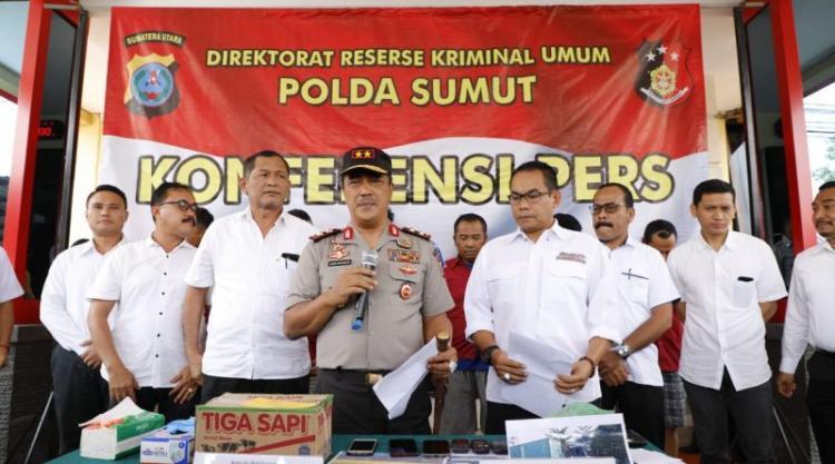 Kerap Beraksi di Jalinsum, Poldasu Berhasil Tangkap Komplotan Perampok Kontainer