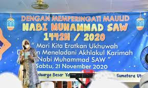 Peringatan Maulid Nabi Muhammad SAW Nawal Ajak Generasi Muda Teladani